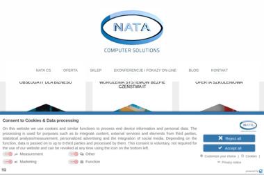 Nata Computer Solutions. Tworzenia stron internetowych - Wizytówki na Zamówienie Legnica