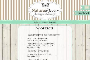 Kwiaciarnia NaturaDecor - Kosz ze Słodyczami Wodzisław Śląski