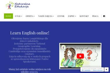Naturalna Edukacja Sandra Maj - Lekcje Angielskiego Nowa Wola