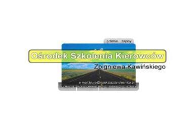 Szkolenie Kierowców Zbigniew Kawiński - Kurs Prawa Jazdy Oleśnica