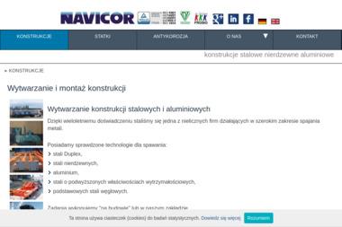 Navicor Sp. z o.o. Piaskowanie, rusztowania, konstrukcje stalowe - Tapetowanie Szczecin