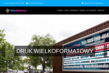 Neo Reklamy - Ulotki Wola Rębkowska