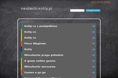 Producent Kotłów Grzewczych Neo Tech Sp. z o.o. - Piece i kotły CO Katowice