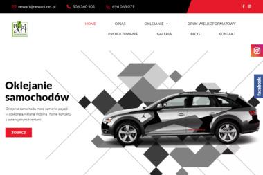 New Art Grupa Promocyjno-Reklamowa Michał Zworski - Wizytówki Olsztyn