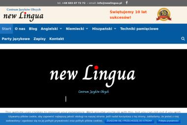 Centrum Języków Obcych New Lingua - Nauka Języka Trzebnica