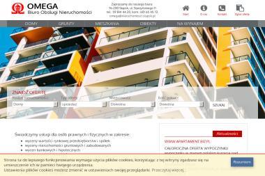 Biuro nieruchomości Omega. Obrót nieruchomościami, wycena nieruchomości, wycena mas upadłościowych - Agencja nieruchomości Słupsk