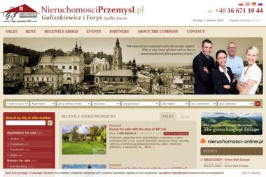Nieruchomości Alicja Galiszkiewicz - Agencja nieruchomości Przemyśl