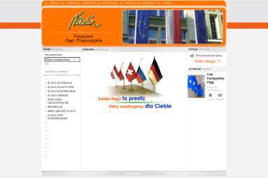 Nikolin. Producent flag i proporczyków - Firma Reklamowa Świerzów