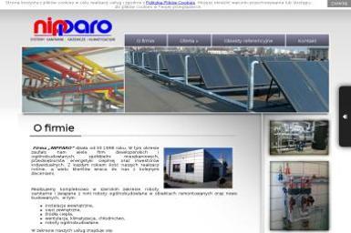 Nipparo. Systemy sanitarne, grzewcze i klimatyzacyjne - Kolektory słoneczne Toruń
