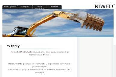 Niwelcase Grzegorz Czuk. Budowa przydomowych oczyszczalni - Tynki maszynowe Zamość