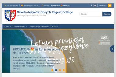 Nauka Języków Obcych Regent - Nauczyciele angielskiego Elbląg