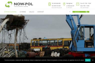 """P.P.H.U. - """"NOW-POL"""" Stacja Recyklingu, Kasacji Pojazdów - Auto złom Września"""