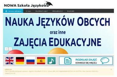 Nowa Szkoła Językowa. Szkoła języków obcych, nauka języków obcych, języki obce - Nauka Angielskiego Piastów