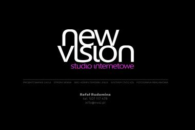 New Vision Studio Internetowe Rafał Rudomina - Usługi Programowania Lublin