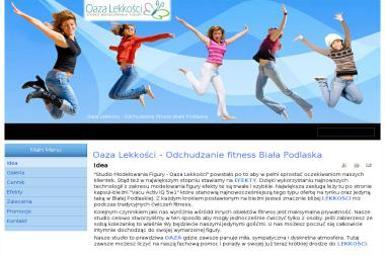 Studio Modelowania Figury Oaza Lekkości - Trener personalny Biała Podlaska