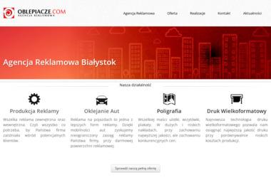 Oblepiacze M Małyszko i A Struniawski S.C. - Kampanie Reklamowe Białystok