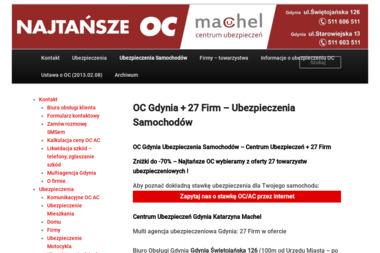 Centrum Ubezpieczeń Katarzyna Machel CUK M - Ubezpieczenia Firm Gdynia