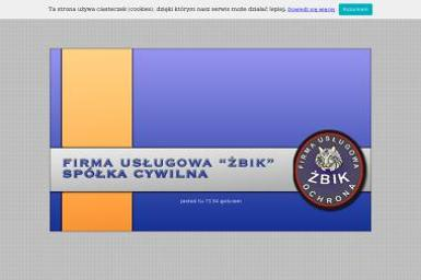 Roman Żbikowski Firma Usługowa Żbik Spółka Cywilna Krzysztof Ścisłowski Paweł Żbikowski Roman - Ochrona Osób i Mienia Czaplinek