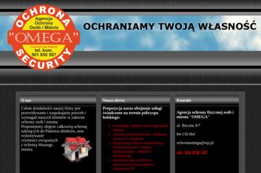 Agencja Ochrony Omega. Ochrona mienia, monitoring - Agencja ochrony Hel