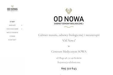 Gabinet Odnowy Biologicznej Od Nowa - Masaże dla Par Kraków