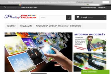 PHU Offmedia Studio Reklamy - Wizytówki na Papierze Ozdobnym Legnica