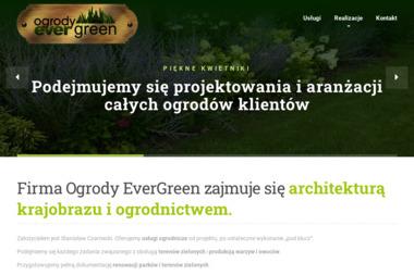 Ogrody EverGreen Stanisław Czarnecki. Projektowanie ogrodów - Projekty Małych Domów Pabianice