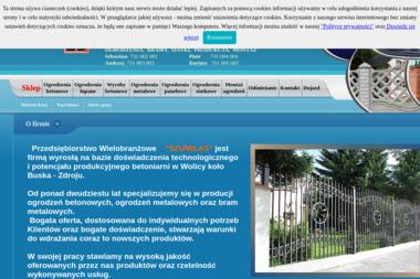 """Przedsiębiorstwo Wielobranżowe  """"SZUMILAS"""" - Ogrodzenia betonowe Busko-Zdrój"""