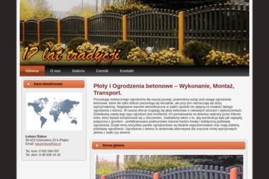 Ogrodzenia Betonowe - Wylewka Oszkowice