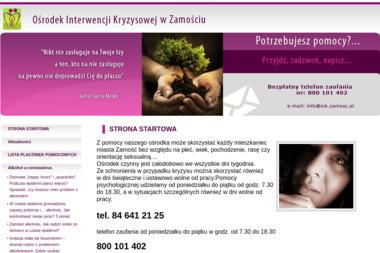 Ośrodek Interwencji Kryzysowej w Zamościu - Pomoc domowa Zamość