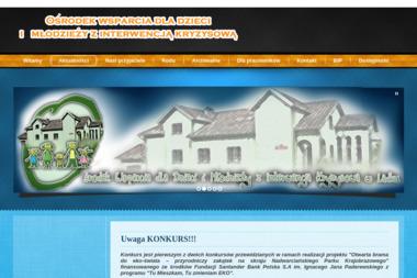 Ośrodek Wsparcia dla Dzieci i Młodzieży z Interwencją Kryzysową - Pomoc w Domu Lądek