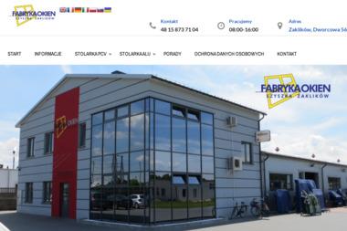 Produkcja Stolarki Pcv Dariusz Szyszka - Market Budowlany Zaklików