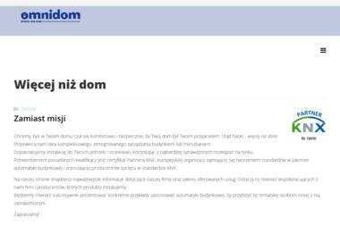 Omnidom - Inteligentny dom Wrocław