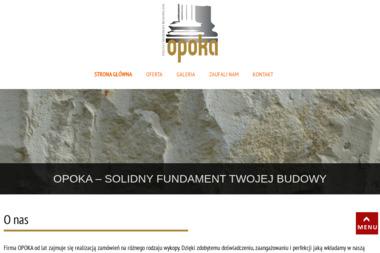 Opoka Usługi i Materiały Budowlane Sergiusz Błaszczyk - Drenaż Łopatki