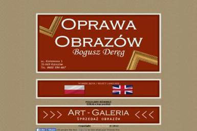Oprawa Obrazów Bogusz Deręg - Malarstwo artystyczne Rzeszów