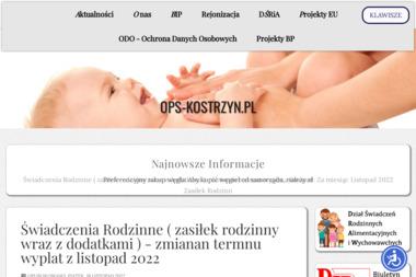 Ośrodek Pomocy Społecznej w Kostrzynie Nad Odrą - Pomoc domowa Kostrzyn Nad Odrą
