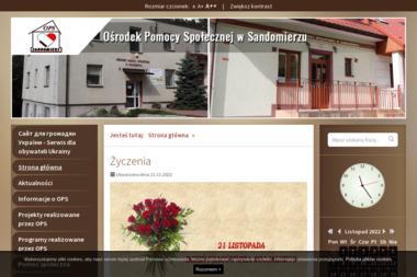 Ośrodek Pomocy Społecznej - Pomoc domowa Sandomierz
