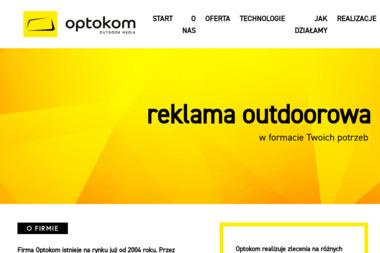 Optokom Outdoor Media - Usługi Reklamowe Dąbrowa Górnicza