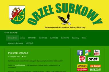 Stowarzyszenie Krzewienia Kultury Fizycznej Orzeł Subkowy - Zajęcia Jogi Subkowy