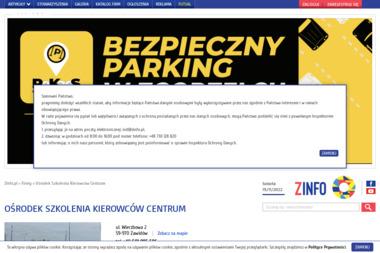 Ośrodek Szkolenia Kierowców Centrum - Szkoła jazdy Zgorzelec