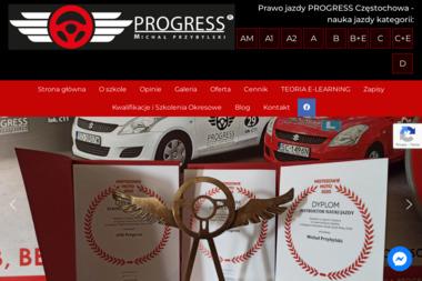 Ośrodek Szkolenia Kierowców Progress - Szkoła jazdy Częstochowa