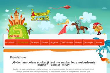 Niepubliczne Przedszkole Czarodziejski Zamek w Owińskach - Szkoła Językowa Owińska