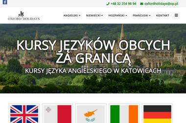 Oxford Holidays - Szkoła językowa Katowice