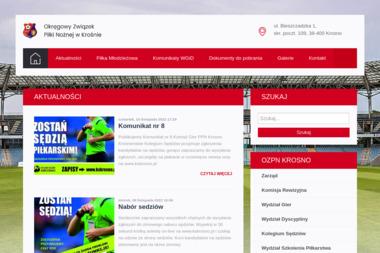 Okręgowy Związek Piłki Nożnej w Krośnie - Joga Krosno