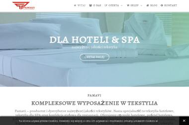 Pamavi. Ręczniki hotelowe, pościel - Hurtownia odzieży Mszczonów