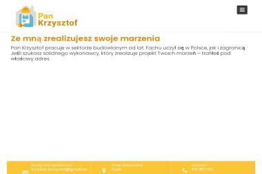 Pan Krzysztof Czyste Dywany - Pranie Kanapy Gdańsk