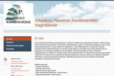 Kamieniarstwo Nagrobkowe Arkadiusz Pawliński - Budowa Nagrobka Rembieszów