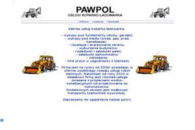 Pawpol Paweł Drabczyński - Roboty ziemne Chrzanów