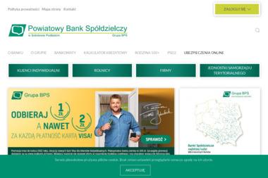 Powiatowy Bank Spółdzielczy w Sokołowie Podlaskim Oddział Sabnie - Kredyt Sabnie