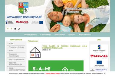 Powiatowe Centrum Pomocy Rodzinie - Pomoc domowa Przasnysz