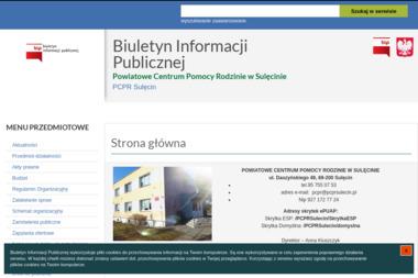 Powiatowe Centrum Pomocy Rodzinie w Sulęcinie - Pomoc domowa Sulęcin